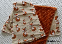 Fox Baby Blanket, Fox Baby Bedding, Woodland Nursery, Fox Nursery, Fox Crib Blanket, Minky Baby Blanket, Rustic Nursery Bedding - http://babyfur.net/fox-baby-blanket-fox-baby-bedding-woodland-nursery-fox-nursery-fox-crib-blanket-minky-baby-blanket-rustic-nursery-bedding.html
