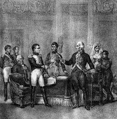 Efemérides de Madrid. 5 de mayo. 1808.- Napoleón Bonaparte y Carlos IV firman un convenio de abdicación de la corona en favor del emperador francés. Como curiosidad, este mismo día pero de 1821 moriría Napoleón en Santa Elena.