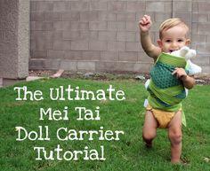 Mei Tai Doll Carrier Tutorial {Mindful Mama}