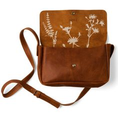KEECIE PICKING FLOWERS BAG - COGNAC USED LOOK