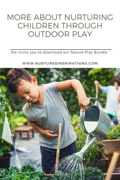 If you are interested in learning more about creating time and space for outdoor play for your child, we invite you to download our Nature Play Bundle. In this downloadable bundle, you will find plenty of ideas that parents and educators can use to invite children to play outdoors and nurture their nature aesthetic pillar while sparking curiosity, independence, and adventure. Share your experiences with outdoor play to Instagram and be sure to tag me @nurturedinspirations in your post.
