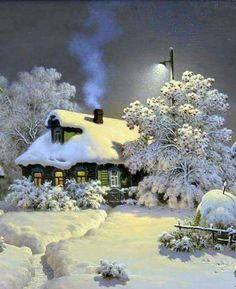 Wouldn't mind being snowed in here at the moment...peace, quiet, cozy fire, a book...sigh....