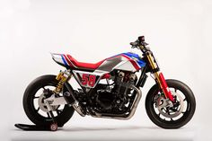 The Honda CB1100 TR Concept Gives a Nod Towards Europe's Flat Track Racing Fascination