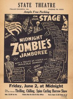 Midnight Zombie's Jamboree at the State Theatre