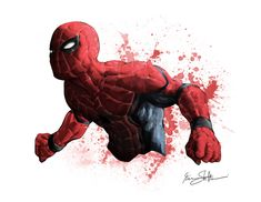 Civil War Spiderman by Iantoy on DeviantArt All Spiderman, Spiderman Pictures, Amazing Spiderman, Comic Book Characters, Marvel Characters, Comic Books Art, Comic Art, Marvel Comics, Marvel Vs