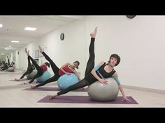 Fit ball Pilates clase completa (Prod. Pato Echeve) - YouTube
