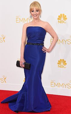 Melissa Rauch at the Primetime Emmy Awards 2014