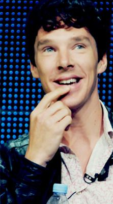 """If someone were to say to me """"I just don't find Benedict Cumberbatch attractive."""" I think I could mange to keep calm long enough to show them this. If they still aren't convinced, then I'll just have to walk away from our friendship."""