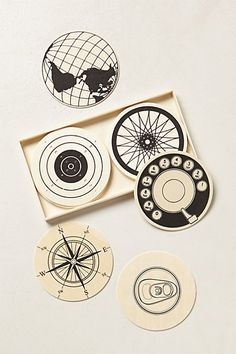 Paraphernalia Coaster Set #anthropologie
