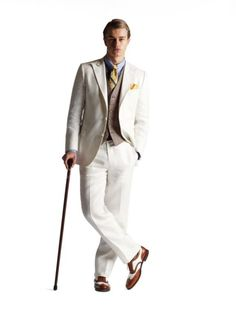 Brooks Brothers suit from the Great Gatsby collection.