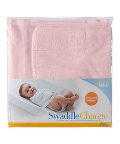 Halo Pink SwaddleChange Changing Pad Cover by Halo