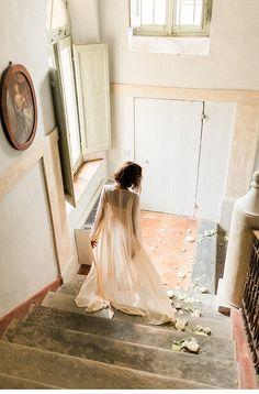 Sensual Italian Boudoir Session by Elisabeth Van Lent Photography