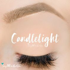Candlelight ShadowSense is a matte, neutral cream to powder eyeshadow color by SeneGence.  #candlelight #eyeshadow #shadowsense #senegence #matte