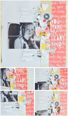wilna furstenburg scrapbooking  I love the title along the right