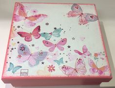 Painted Wooden Boxes, Decoupage Box, Country Paintings, Crochet Patterns, Diy Projects, Crafts, Vintage, Ideas, Handmade Furniture