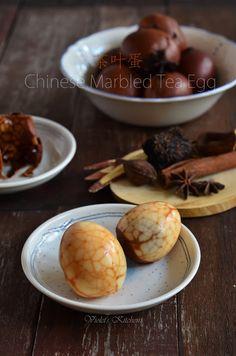 茶叶蛋 Chinese Marbled Tea Egg