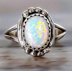 Navajo Opal Rings