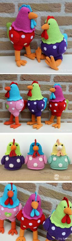 Vintage Crochet Chicken Patterns The Cutest Ideas