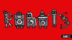 Robots - How To Draw Cute and Graffiti Letters by Garbi KW