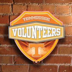 Tennessee Volunteers Neon Shield Wall Lamp