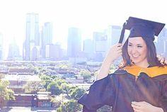 Graduation Rooftop Shoot