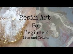 Top tips and tricks to create resin art for beginners - YouTube