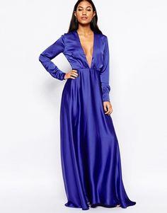 Платье макси с глубоким вырезом Jovonna Premier Hollywood