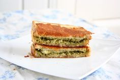 collecting memories: Grilled Cheese Pesto Sandwich