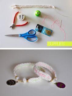 DIY braided dog collar by www.lovemebright.com