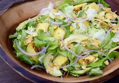 "grilled pineapple salad with ""mojito dressing"" 