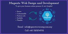 Magento Web Design and Development - http://www.openwavecomp.com.my/magento_website_development.html