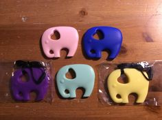 Fun Silicone teether necklace Nursing Necklace Teething