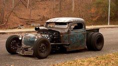 rat rod #trucks Rat Rod Cars, Hot Rod Trucks, Cool Trucks, Big Trucks, Cool Cars, Dodge Trucks, Dually Trucks, Semi Trucks, Pickup Trucks