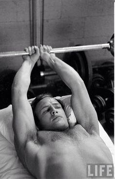 Marlon Brando on the set of The Men directed by Fred Zinnermann 1949 by Edward Clark