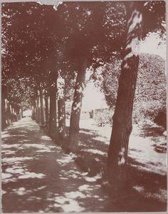 Paisagem de Friedberg (Hessen) em set/out de 1910. Fotografia tirada durante viagem da família imperial russa a Hesse (Alemanha)(Germany).