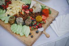 Very fruity cheese board