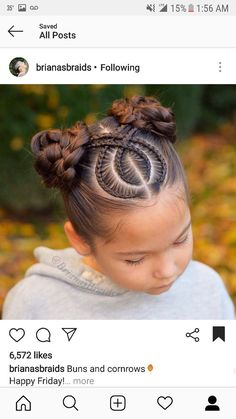 Today we are going to talk about those gorgeous braid styles. I will show you the best and trendy hair braid styles with some video tutorials. Kids Braided Hairstyles, Box Braids Hairstyles, Little Girl Hairstyles, Cool Hairstyles, Teenage Hairstyles, Hair Updo, Hairstyles Haircuts, Hairstyles Videos, Hairdos
