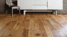 Portofino's age crafted floors merge the rustic style of Old World European manors with modern inspiration for a timeless floor. Hand selected planks are antiqued and aged to accent the natural stunning characters of European Oak. These natural distressed