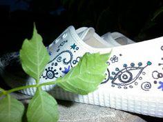 susoleto: pintar zapatillas paso a paso
