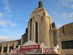 art deco theater marquee - Google Search