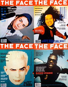THE FACE magazine, http://www.designishistory.com