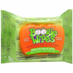 I'm learning all about Boogie Wipes Gentle Saline Wipes for Little Noses at @Influenster!