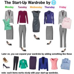 Let's face it, if you're on a budget and don't have a great deal of money to invest in your wardrobe, you're best to start off with some basic pieces and add to...