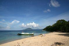 Gunung Api from Pulau Ai - Pulau Ai, Banda Islands, Maluku - Indonesia