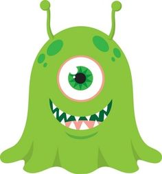 cute monster | Alien Clipart Image - Cute Monster