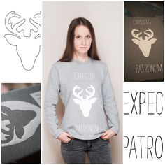 DIY Harry Potter Sweatshirt