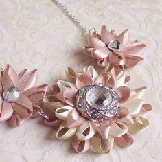 Blush Pink Jewelry Blush Pink Necklace Blush by PetalPerceptions, $16.00