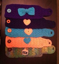 Crochet Mug Cozy's  on Etsy, $7.00