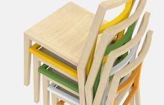 Frame #chair #design Davide Dante Valerio. #furniture #stackable #innovation