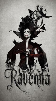 Typography :: Ravenna - Ravenna Licensing Program | Snow White and the Huntsman by Russ Gray, via Behance